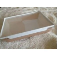 Kraft Tray & Snap on Transparent lid