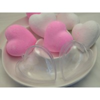 Bath Bomb Moulds Mini Heart 2 part